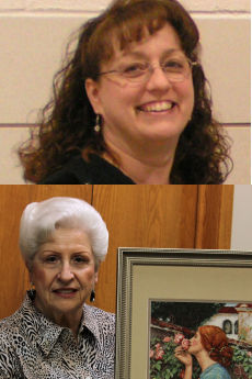 Barbara Schilling and Irma Wager